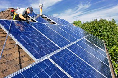 太阳能光伏发电系统安装图示