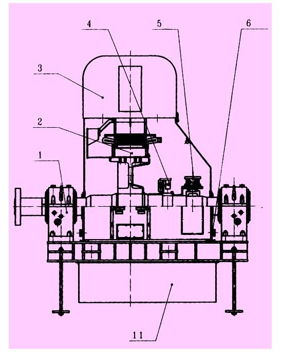 无刷同步电动机励磁系统结构如图2所示,其中励磁发电机与同步电动机
