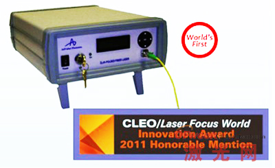 2μm调Q光纤激光器