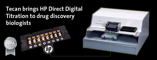 Tecan HP D300 Digital Dispenser 皮升级超微量加样器