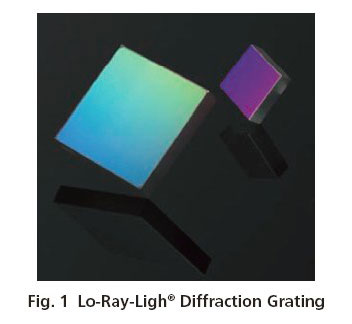 Lo-Ray-Light Diffraction Grating