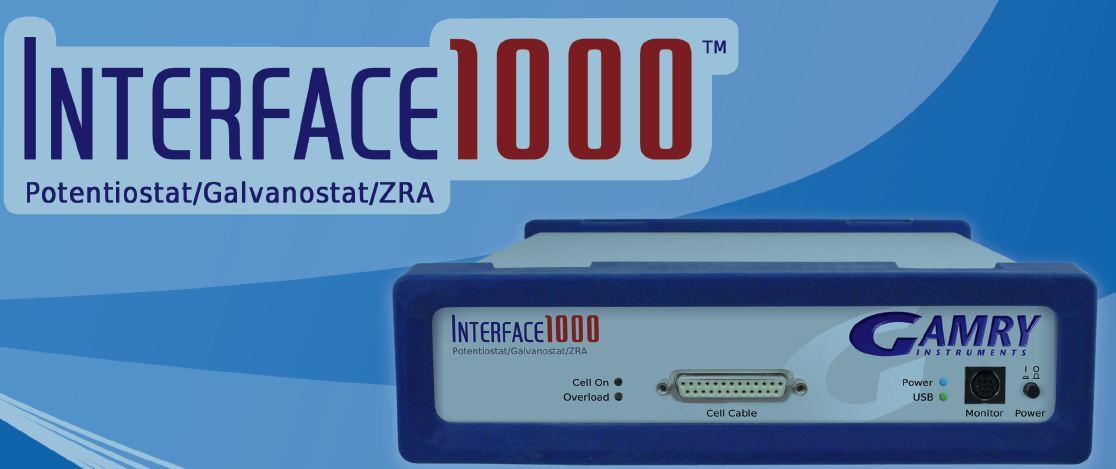 Interface 1000电化学工作站