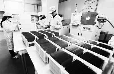 太阳能光伏硅片生产企业图解