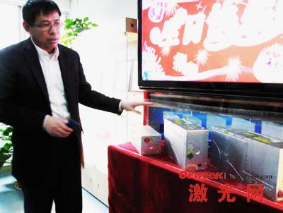 大族激光副总经理、首席技术官吕启涛博士