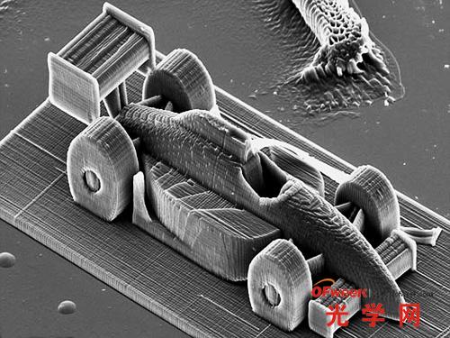 3D打印赛车模型