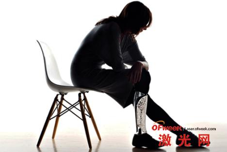 3D激光打印技术制造的假肢