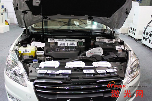 激光技术广泛运用于汽车领域