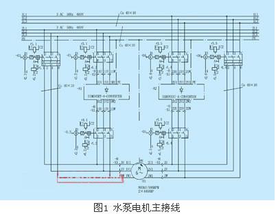 线电抗器l1,整流桥sr1,直流连接 其系统接线如图1,图中带有旁路图片