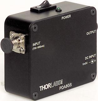 PDA8GS 光电探测器