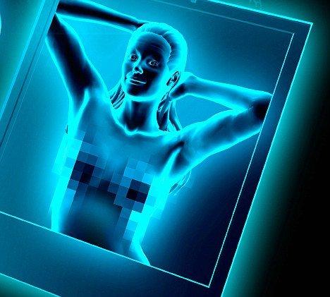"""高科技芯片可使手机""""看透""""墙壁、树木和塑料,甚至能够透视人们的衣物"""