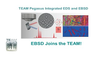 TEAMTM PEGASUS是智能化的EDS和EBSD一体化产品