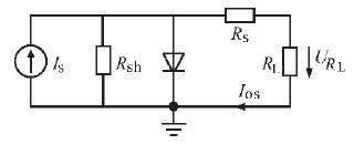 太阳电池的电路模型