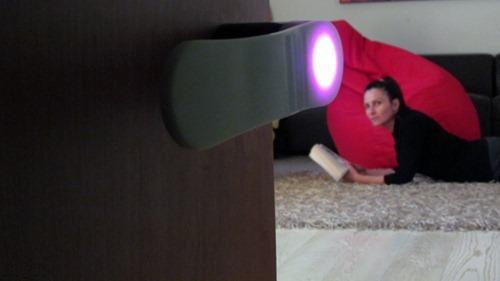 LED发光门把手