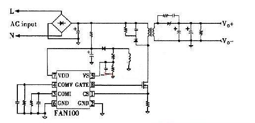恒流驱动器整体电路