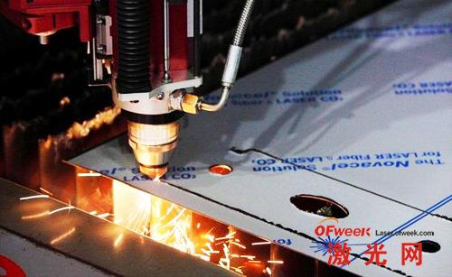 光纤激光切割覆膜板材