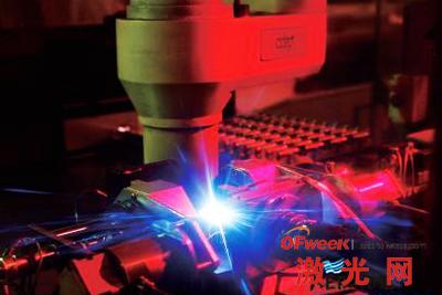 航空部件激光焊接