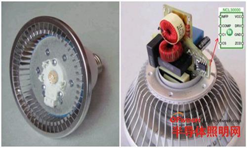 基于NCL30000的11WLEDPAR30灯泡改造示例