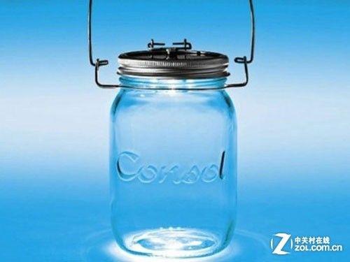 LED太阳能罐