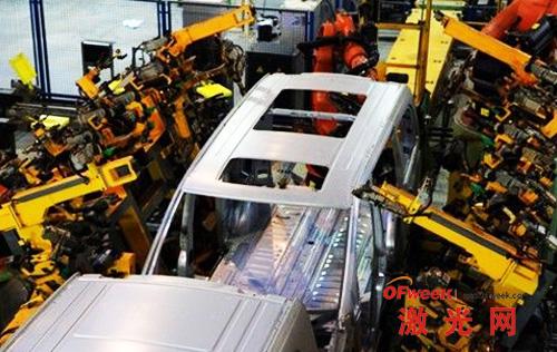 多种车型可实现共线自动化生产