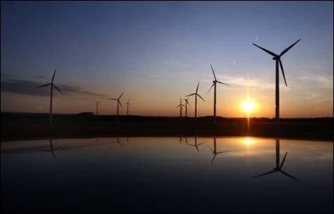 德国南部风车