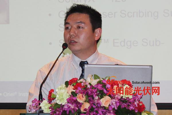 美国理波公司中国区项目经理孙春峰