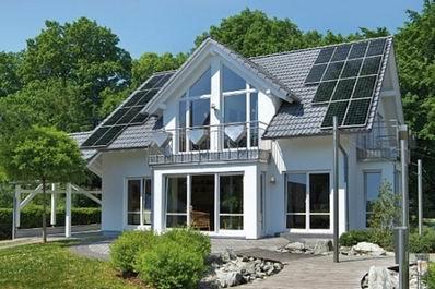 欧洲屋顶太阳能光伏发电项目