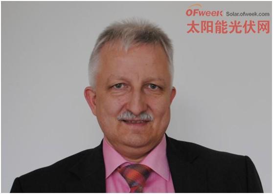 centrotherm 公司CEO Josef Haase博士