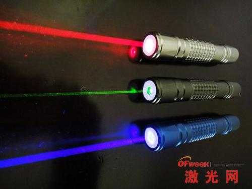 激光指示器做光学无线网络