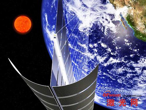 英科学家研发从太空高效收集太阳能技术,太阳能转化成的电能有望通过激光传送到地球所需地方