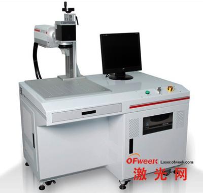 华工激光推出的先进光纤激光打标机