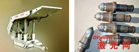 激光熔覆修复处理大大提高液压支架、截齿的使用寿命