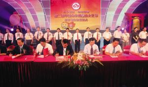 南京液晶谷投产仪式