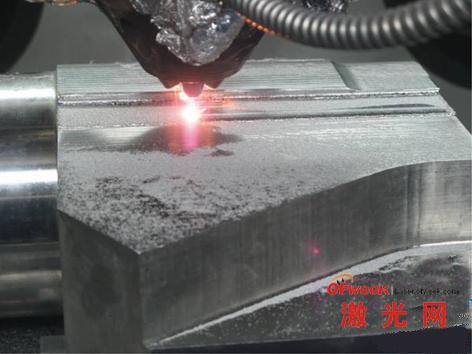 钛构件激光成型技术