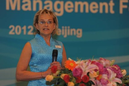 安捷伦科技全球副总裁、气相色谱和自动化业务集团总经理Shanya Kane演讲