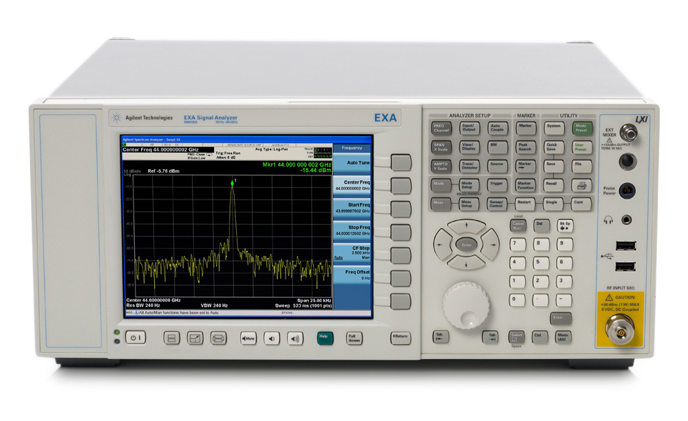 安捷伦 EXA 信号分析仪