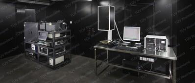 德国莱茵TUV 太阳能电池检测实验室