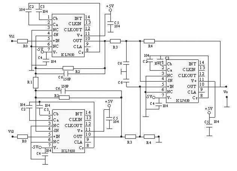 基于multisim 8的弱信号放大电路的设计与仿真