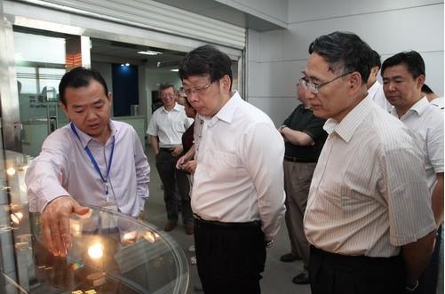 陈希、朱静芝到炬光科技有限公司调研工作