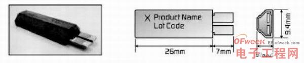 MHP器件的形状和尺寸