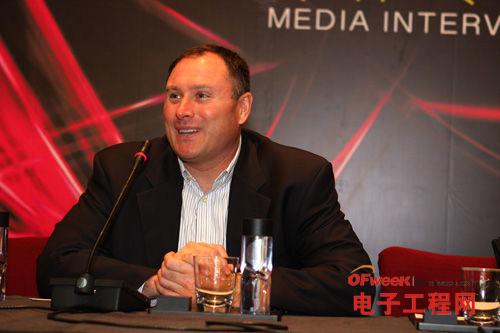 高通CDMA技术集团高级副总裁Jeff Lorbeck