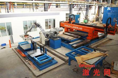 激光焊接工艺平台