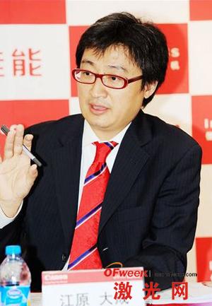 佳能(中国)有限公司商务影像方案部总经理 江原大成