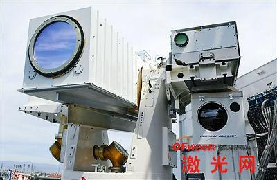 美国海军研制的新型舰载激光武器