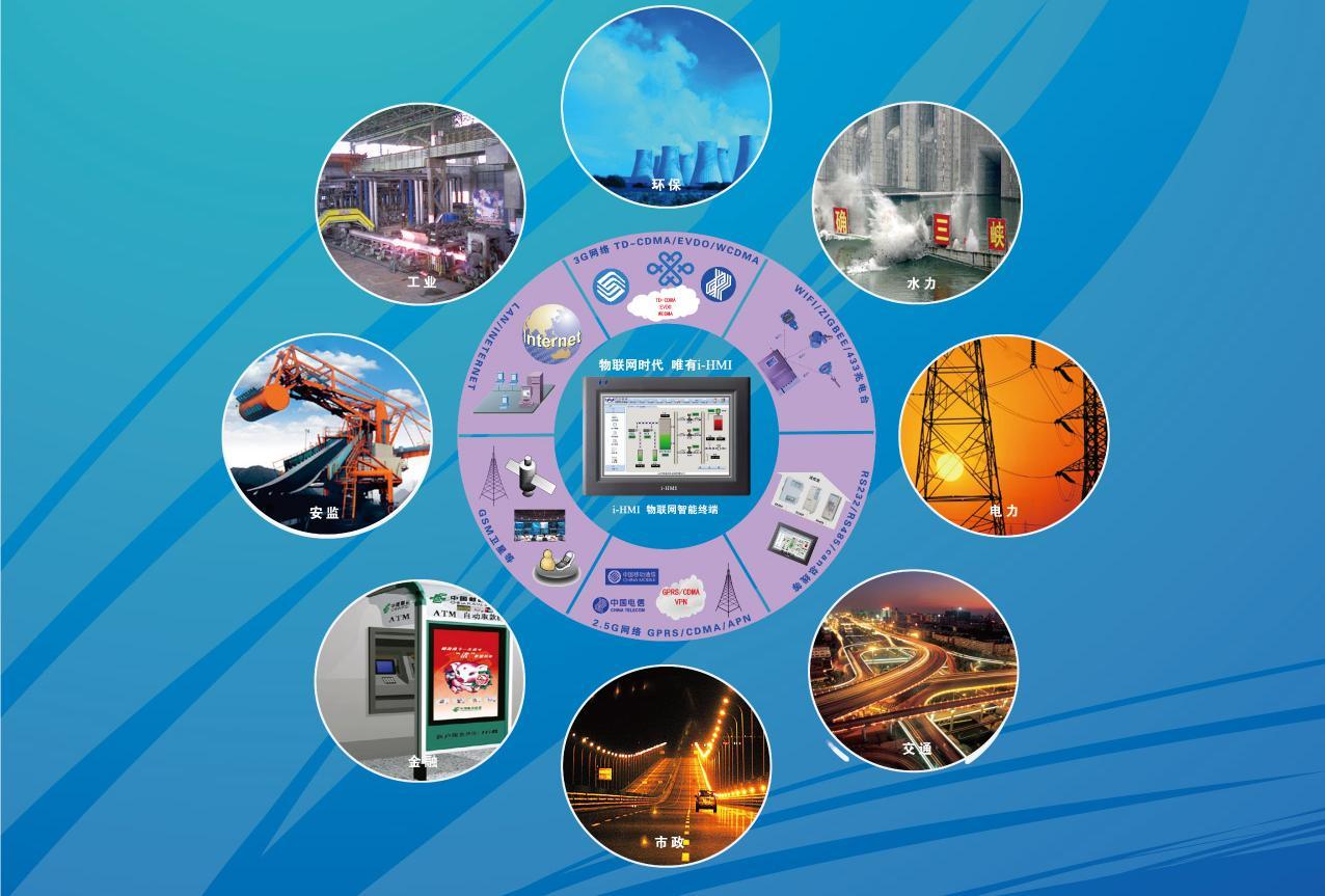 HMI 人机操作界面 在工控系统的应用