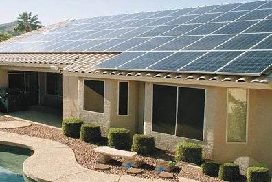 银行投资屋顶太阳能光伏发电系统,供屋主租用