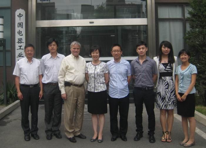 中国电器工业协会同UL一行开展交流活动