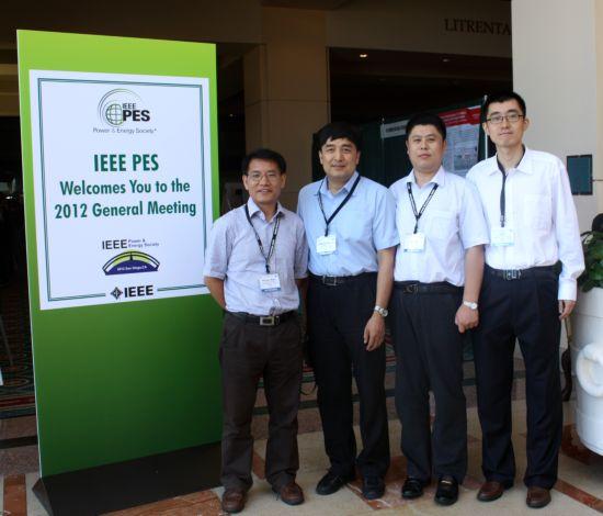 中国电科院代表团参加IEEE PES 2012年会