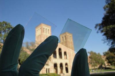 加州大学展出透明太阳能电池