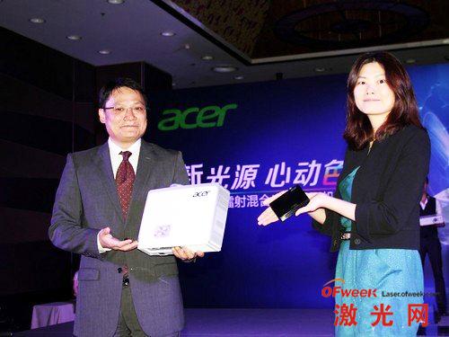 Acer 发布新品激光投影