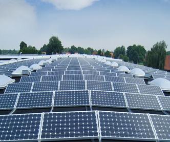 世界最大屋顶光伏发电项开建